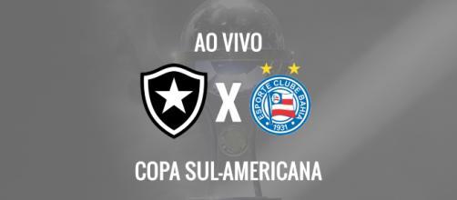 Sul-Americana: Botafogo x Bahia ao vivo