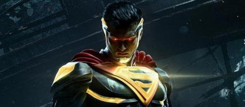 Superman em poster de Injustice 2.