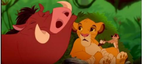 The Lion King - Hakuna Matata (HD) [Image courtesy – Lion King Community YouTube video]