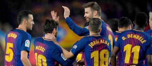 Wembley termómetro para el Barcelona