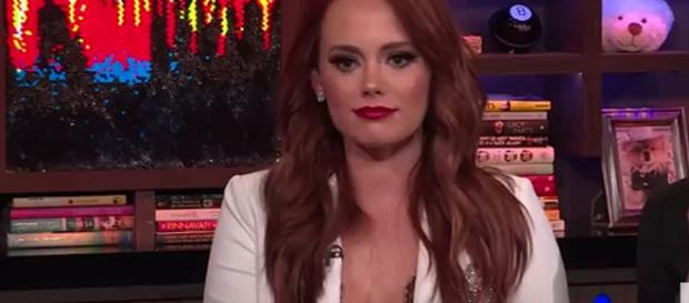 Bravo star Kathryn Dennis believes that she was blessed by God when most needed. [Image Source: Watch What Happens Live - YouTube]