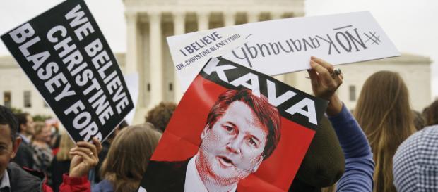 Brett Kavanaugh's accuser has 4 people to corroborate sexual ... - (Image via nypost/Twitter)