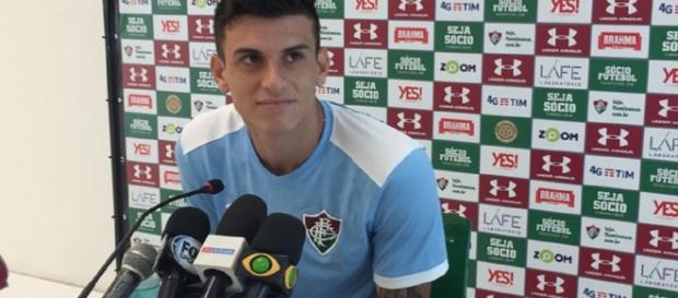 Querendo apoio da torcida, Ibañez praticamente confirma escalação para jogo contra o Deportivo Cuenca (Foto: Felipe Siqueira)