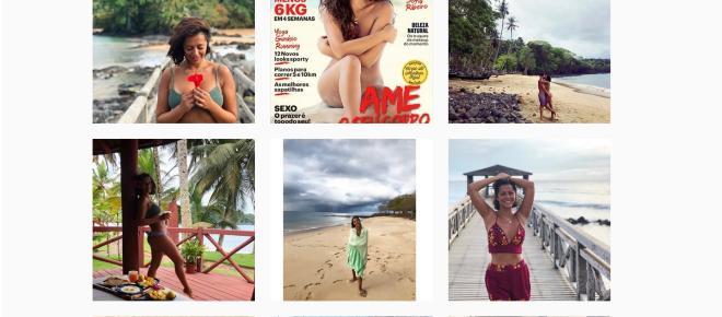 Sofia Ribeiro posa sem roupa na revista Women's Health