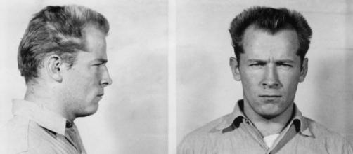 Bulger's Police photograph's from his 1959 Incarceration at Alcatraz (Image credit: Wikimedia Commons)