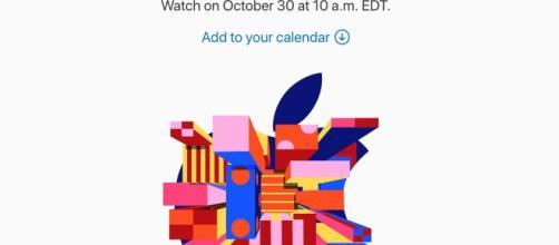 Evento apple 30 ottobre 2018 ore 15:00