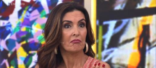 Fátima Bernardes não concorda com suposta visão machista de Martinho da Vila. (foto reprodução).