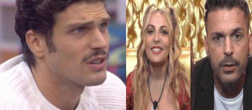 Grande Fratello Vip: Lisa Fusco e Enrico Silvestrin contro l'eliminazione di Elia