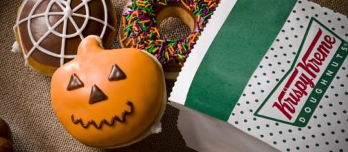 Halloween means free donuts! [Image via Chicago tribune/YouTube]