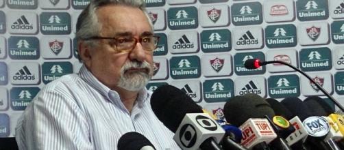Paulo Angini, gerente-executivo de futebol do Fluminense (Foto: Net Flu)