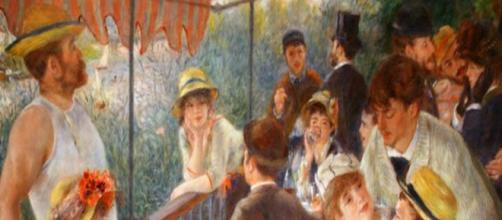"""Renoir's Anti-Semitism in plain sight in """"Luncheon of the Boating Party"""" Image Source: Wikipedia Commons 