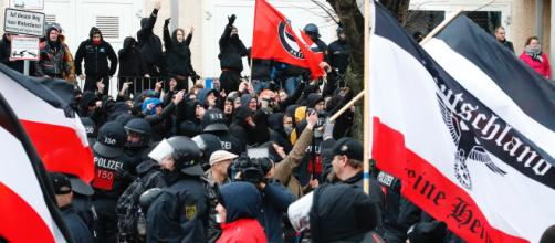 What happened when Germany banned Nazi symbols at a neo-Nazi march ... - businessinsider.com