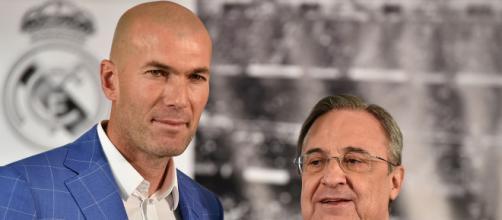 Zinedine Zidane Florentino Perez Real Madrid 01042016 - Goal.com - goal.com