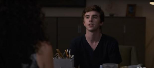 Dr. Murphy has all he can handle from Dr. Glassman and decisions with Lea on The Good Doctor. [image source: TV Promos- YouTube]