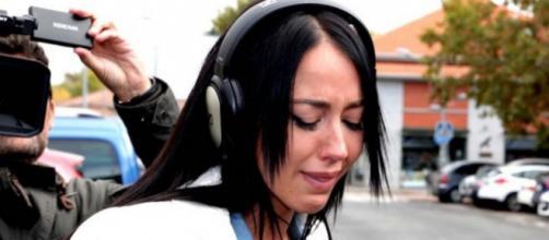 Aurah Ruiz en imagen saliendo del juzgado