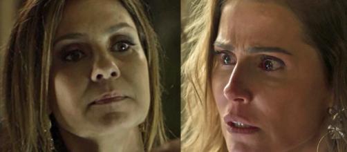 Karola e Laureta são filha e mãe em Segundo Sol