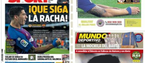 La prensa catalana da por sentado que el Barça ganará al Rayo Vallecano.
