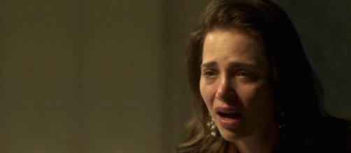 Mãe de Laureta prende Rosa no porão de casa. (foto reprodução).