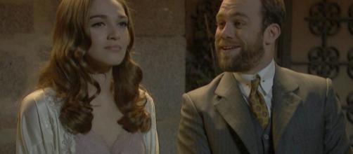 Trame, Il Segreto: Julieta torna a vivere alla Villa, Fernando le mette gli occhi addosso