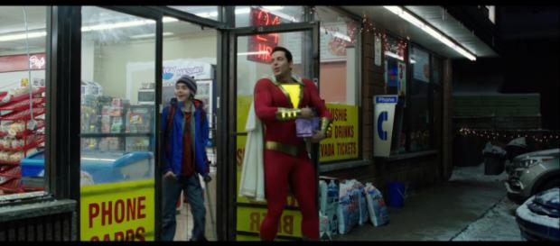 A new rumor hints Superman will appear in the 'Shazam' movie via contract obligation. - [Warner Bros. Pictures / YouTube screencap]