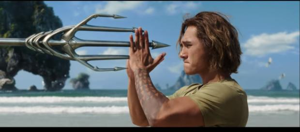 Aquaman' will have flashback scenes of Arthur Curry's past and powers [Image Credit: Warner Bros. Pictures/YouTube screencap]