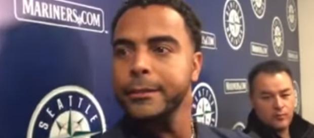 Nelson Cruz interview. - [The News Tribune / YouTube screencap]