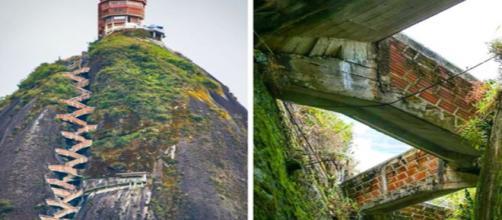 Conheça algumas escadarias tremendamente angustiantes que existem pelo mundo