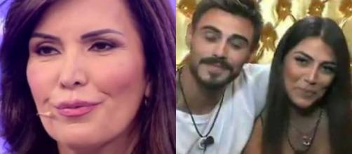 Gf Vip, la madre di Giulia Salemi: 'Mia figlia non si fidanzerà mai con Francesco Monte'