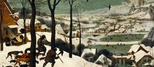 """""""Hunters in the Snow"""" by Pieter Bruegel Image Source: Pubic Domain 