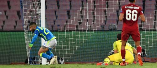 Insigne earns a late victory for Napoli - (Image via goal/Youtube screencap)