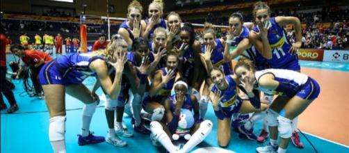 Mondiali Pallavolo Italia Calendario.Pallavolo Mondiali Donne Azzurre Alla Seconda Fase