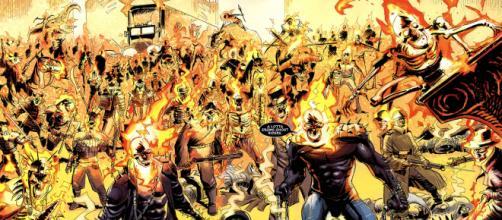 Motoqueiros Fantasma. Arte: Marvel Entertainment. (foto reprodução)