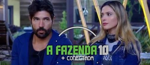 Nadja Pessoa e Sandro Pedroso estão na roça e um será eliminado hoje