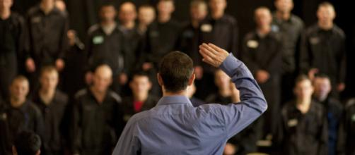 The power of acting in prisons Photo credit: Drugoi Used by permission.