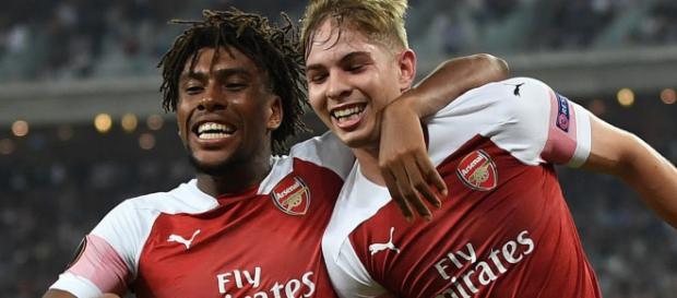 Arsenal beat Qarabag to keep their winning streak (Image via ArsenalFC/Twitter)