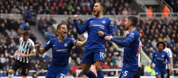 "Chelsea vs. the boys from ""Dave"": MOL Vidi, live on BT Sport (Image via ChelseaFC/Twitter)"