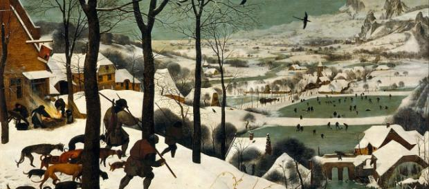"""Hunters in the Snow"" by Pieter Bruegel Image Source: Pubic Domain 