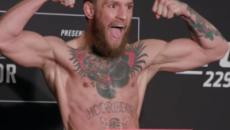 Conor McGregor, Khabib Nurmagomedov make weight ahead of UFC 229 title fight