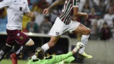 Festa e recorde de público no Rio marcam classificação do Fluminense na Sul-Americana