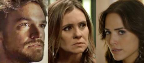 Confrontos entre os personagens marcará a semana em Segundo Sol (Foto: TV Globo)