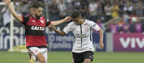 Flamengo e Corinthians tem as duas maiores torcidas do Brasil.