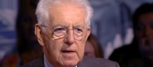 Mario Monti parla delle possibili conseguenze delle scelte economiche del Governo