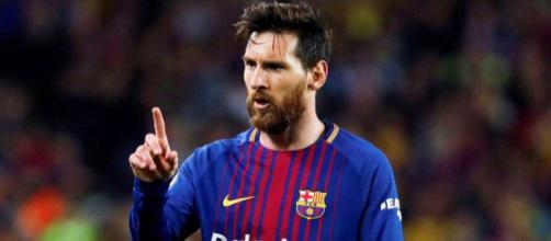 Messi tem demonstrado insatisfação com alguns desempenhos individuais