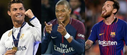 Ronaldo, Messi et Mbappé seront les trois finalistes pour le Ballon d'Or selon Neymar