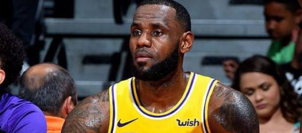 LeBron James of Los Angeles Lakers [Image by lebron.james Instagram]