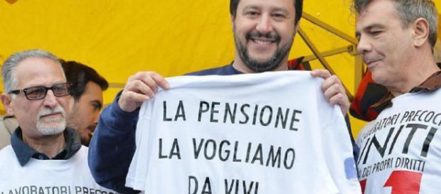 Pensioni, Governo punta diritto verso Quota 100 ma il leader della Lega, Salvini, vuole inserire anche i 41 anni ad ogni età
