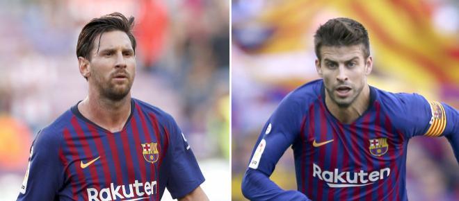 Se habla de un enfrentamiento entre Piqué y Messi (Rumores)