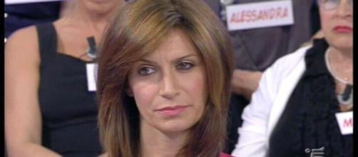 Barbara De Santi litiga a Uomini e Donne trono over.