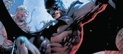Batman em seu uniforme dos Novos 52.