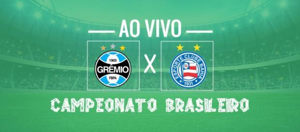 Brasileirão: Grêmio x Bahia ao vivo